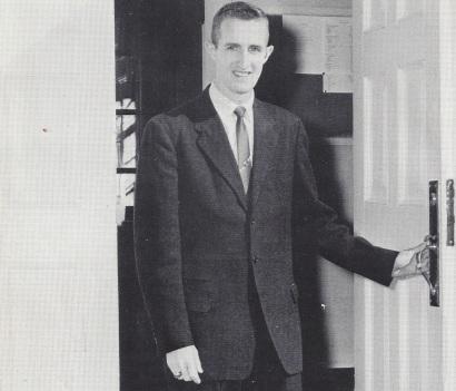 Lockerbie in his 1961 Res Gestae dedication photo