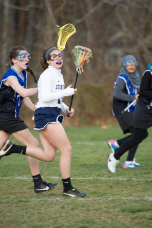 Marlee Painter was a senior leader on the first girls' lacrosse team in 9 years (PC: Brianna Holochuck)