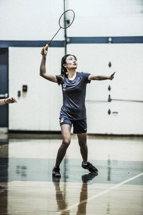 Elena Chen returns a shot (PC: Bruce Jeffrey)