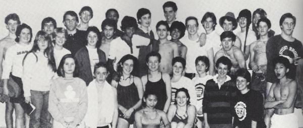 Swimming 1984