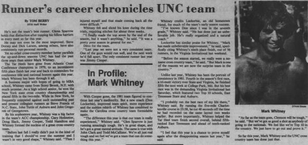 Whitney B XC UNC