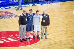 Bohuny was given the Sportsmanship Award