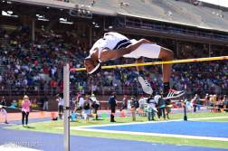 Jyles Etienne took 3rd at the Penn Relays in April (PC: Penn Relays)