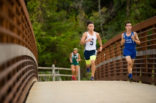 Louis Wang earned a place in the State Championship (PC: Bruce Jeffrey)