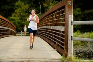 Miranda Harrigan ran to a runner-up finish at the County Championships (PC: Bruce Jeffrey)
