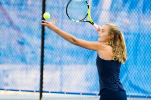 Marta Bennett made a deep run in the Divisional Tournament (PC: Bruce Jeffrey)