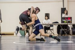 Justin Moreno made the County Wrestling Tournament (PC: Bruce Jeffrey)