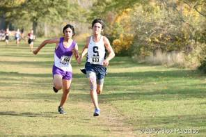 Corcoran edges the 4th place runner at last week's County Championships