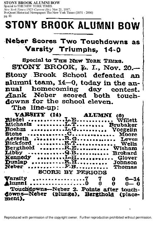 1937 Football