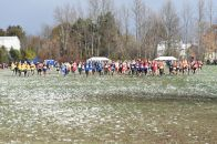 The start of the boys' race