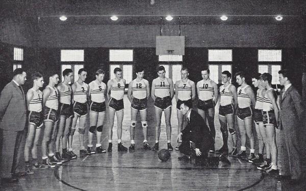 B Basketball 1940