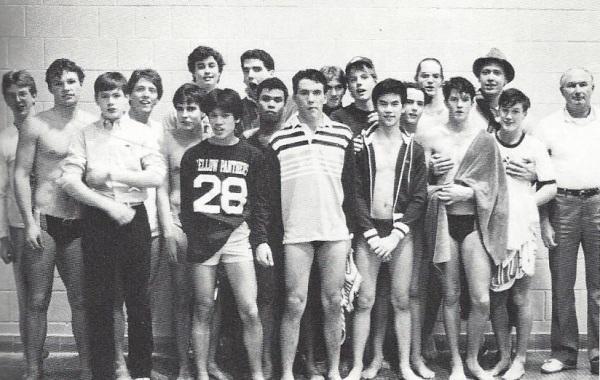 B Swim 1985