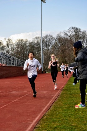 Wong took 2nd in the 800