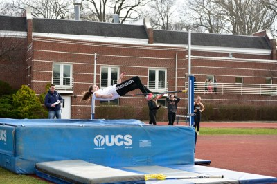 Scanlon earned a 2nd place finish in the high jump