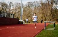 Scanlon takes 1st in the 200m