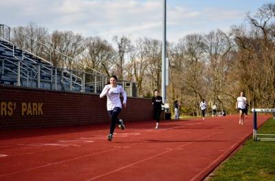 Maglione wins the 400m