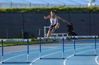 Harrison Plhak in the 400m hurdles