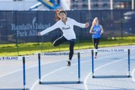 Wong in the 400m hurdles