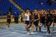 Louis Wang ran a 53-second 400m in the spring medley relay