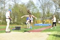 Caraiani took 2nd in the triple jump