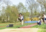 Leung took top honors in the triple jump