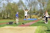 William Wang skies in the triple jump