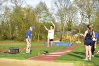 Scanlon takes 2nd in the long jump