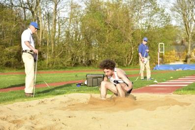 Cataudella takes 3rd in the triple jump