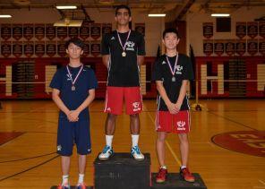Liu on the podium (PC: Newsday)