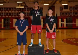 Liu on the podium (PC: Newsday)