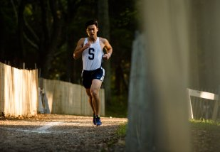 Louis Wang earned a spot in the New York State Cross Country Championships (PC: Bruce Jeffrey)