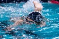 The boys' swim team won four meets and drop 2 school records (PC: Gabby Germain)