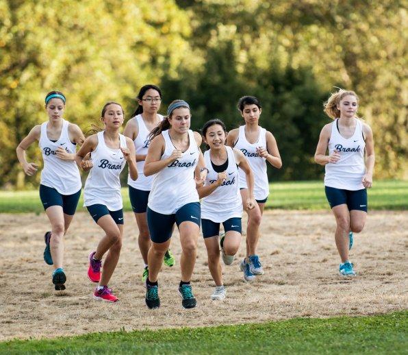 The girls' cross country team (PC: Nkenna Ezeano)