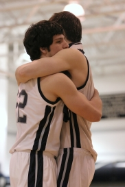 Shawn Austin & Carmel celebrate the win