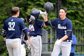 Wachter after a HR in last year's PSAA Championship (PC: Newsday)
