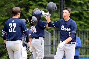 Wachter after a HR in the PSAA Championship (PC: Newsday)